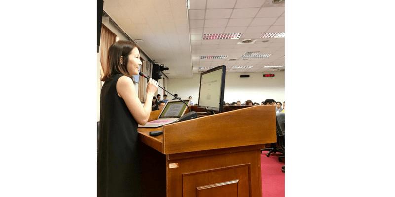 王琍瑩律師出席立法委員余宛如國會辦公室主辦之「區塊鏈金融發展」公聽會
