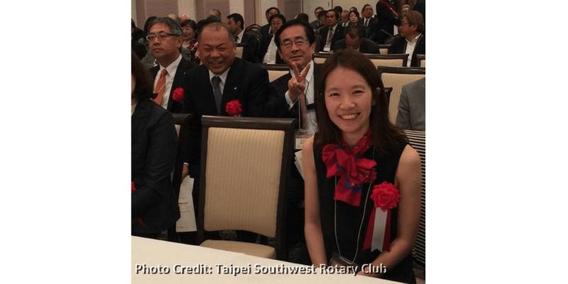 王琍瑩律師受邀參與扶輪社日本姊妹社第 40 屆授證典禮