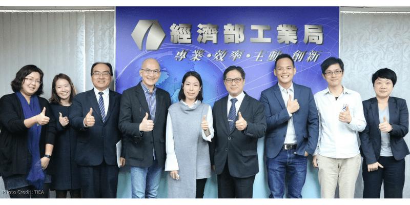 王琍瑩律師拜會工業局長