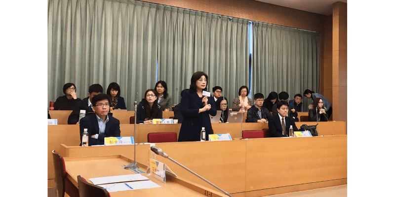 王琍瑩律師受邀出席政大國際產學聯盟、金融科技研究中心主辦「第一次金融科技政策與修法座談會」