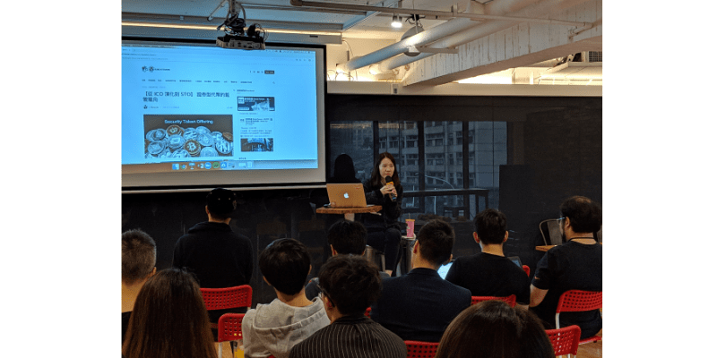 王琍瑩律師於 AppWorks 主持「Legal Workshop – Legal Issues For AI & Blockchain Startups to Consider」