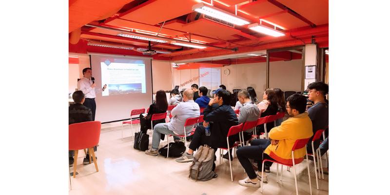 本所邀請到新加坡事務所合作夥伴,為台灣團隊介紹東南亞市場的網路新創法規環境