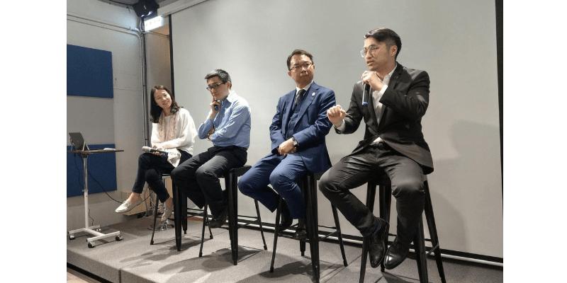 王琍瑩律師主持台北律師公會創新科技委員會「虛擬通貨新經濟領航」座談